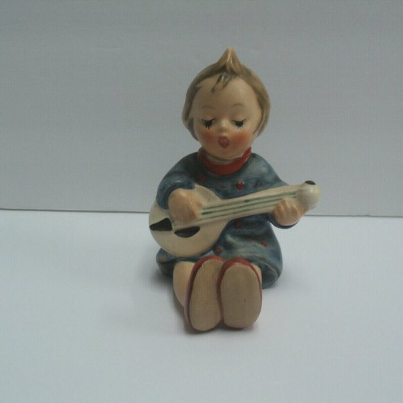 Vintage Goebel Hummel Joyful #53 Girl & Mandolin